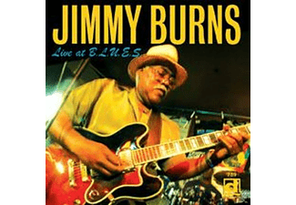Jimmy Burns - Live At B.L.U.E.S. - (CD)