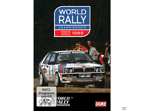 WORLD RALLY CHAMPIONSHIP MONTE CARLO1988 - (DVD)