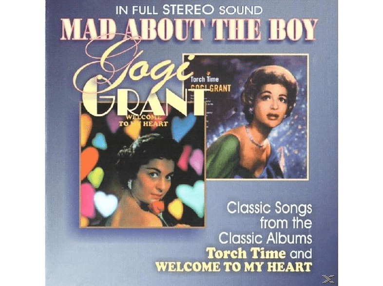 Gogi Grant - Mad About The Boy [CD]