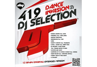 VARIOUS - Dj Selection 419-Dance Invasion 123 - (CD)