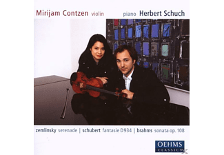 Herbert Schuch - Works For Violin & Piano - (CD)