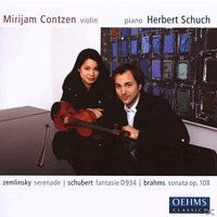 Herbert Schuch - Works For Violin & Piano [CD]