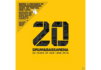 VARIOUS - Drum & Bass Arena-20 Years (3CD+MP3) - (CD)