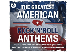 VARIOUS - Greatest American Rock'N Roll Anthems - (CD)