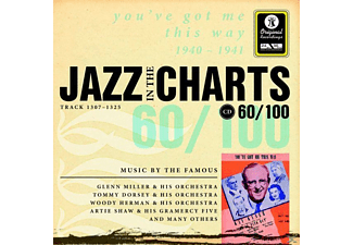 VARIOUS - Jazz In The Charts 60-1940-41 - (CD)