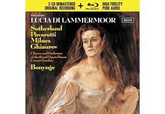 VARIOUS - Lucia Di Lammermoor - (CD + Blu-ray Disc)