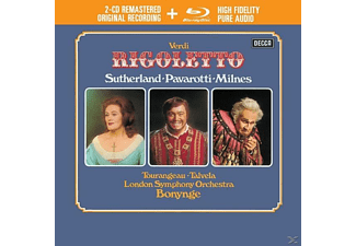 Luciano Pavarotti - Rigoletto - (CD + Blu-ray Disc)