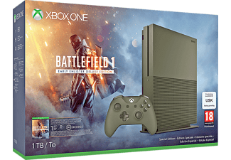Pack Xbox One S 1TB + Battlefield 1