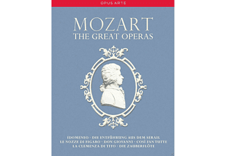 VARIOUS - Great Operas,The/Mitrade,de di Ponto - (DVD)