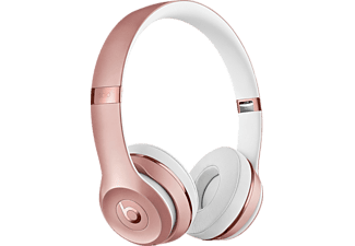 BEATS Solo 3 Wireless, On-ear Kopfhörer, Headsetfunktion, Bluetooth, Rosegold