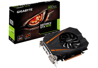 GIGABYTE GeForce® GTX 1070 Mini ITX OC 8GB (GV-N1070IXOC-8GD)( NVIDIA, Grafikkarte)