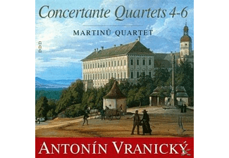 Martinu Quartet - Konzertante Quartette 4-6 - (CD)
