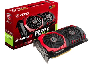 MSI GeForce GTX 1060 Gaming X 3G GTX1060 3GB GDDR5 192b DX12 PCIE 3.0 x16 Ekran Kartı