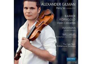 GILMAN,ALEXANDER & SO,PERRY - Violinkonzerte/Carmen Fantasie - (CD)