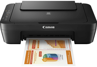 CANON MG 2555 S PIXMA, 3-in-1 Multifunktionsdrucker, Schwarz