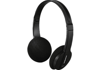 THOMSON WHP-6005BT, On-ear Kopfhörer, Headsetfunktion, Bluetooth, Schwarz
