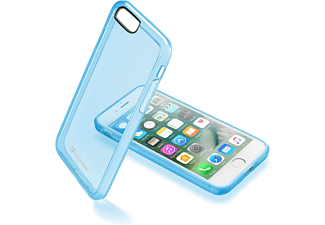 CELLULARLINE Hard cover Clear Color iPhone 7 Blauw (CLEARCOLIPH747B)