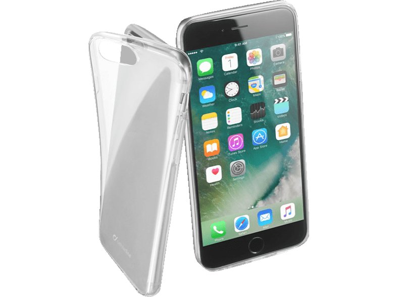 CELLULAR LINE  FINE Backcover Apple iPhone 7 Plus Thermoplastisches Polyurethan Transparent | 08018080276712