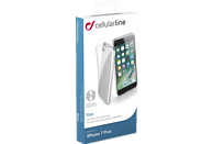 CELLULAR LINE FINE , Backcover, Apple, iPhone 7 Plus, Thermoplastisches Polyurethan, Transparent