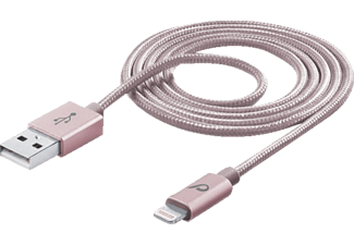 CELLULAR LINE 37281 Datenkabel, passend für Apple Universal, Rosé Gold
