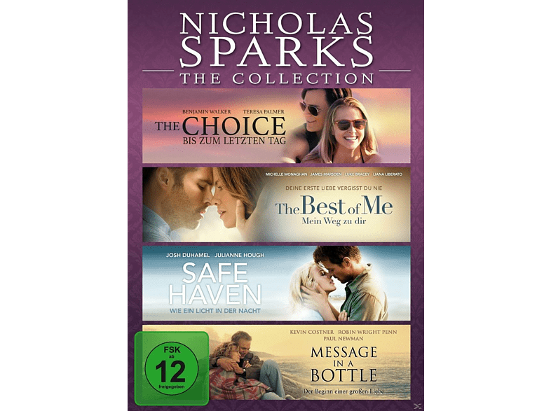 Nicholas Sparks-The Collection  [DVD]