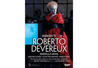 VARIOUS, Orchestra And Chorus Of The Teatro Real De Madrid, Mariella Devia, Marco Caria - Roberto Devereux - (DVD)