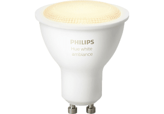 PHILIPS Hue, LED Leuchtmittel, 5.5 Watt, kompatibel mit: HomeKit