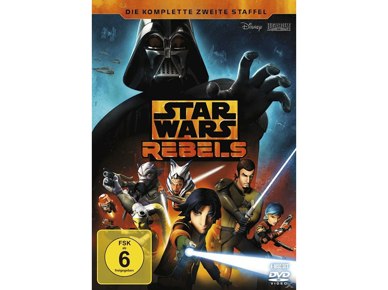Star Wars Rebels: Staffel 2 [DVD]