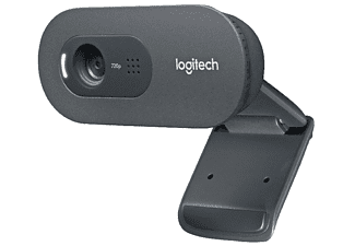 Webcam - Logitech C270, HD 720p, 3 MP, Micrófono integrado