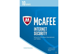 McAfee 2017 Internet Security - 10 Geräte (Code in a Box)