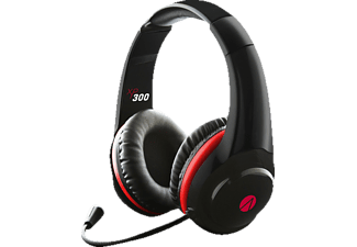 A4T Stealth Multi Format  XP300, Stereo Gaming-Headset, Schwarz/Rot