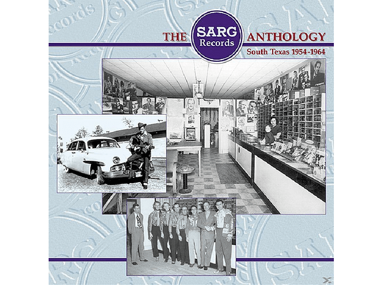 VARIOUS - The Sarg Records Anthology   4 [CD]