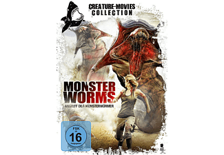 Monster Worms - (DVD)