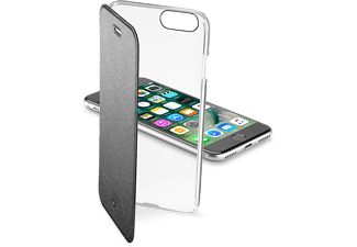 CELLULARLINE Clear Book case avec rabat de protection Noir iPhone 7 (CLEARBOOKIPH747K)