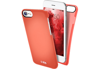 SBS MOBILE Cover ColorFeel iPhone 7 - Röd