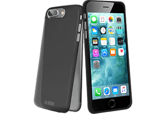 SBS MOBILE Extra-slim Cover iPhone 7 Plus - Transparent Svart