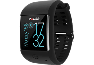 polar m600 smartwatch gr e 130 230 mm in schwarz kaufen. Black Bedroom Furniture Sets. Home Design Ideas