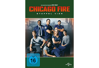 Chicago Fire 4. Staffel - (DVD)
