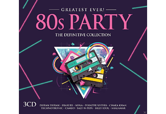 VARIOUS - 80s Party-Greatest Ever - (CD)