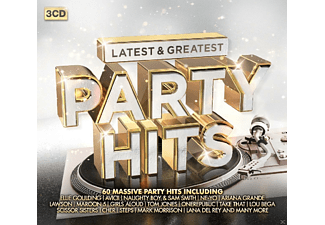 VARIOUS - Party Hits-Latest & Greatest - (CD)