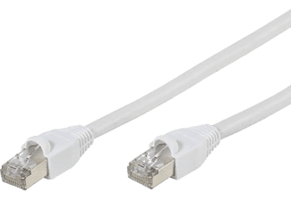 VIVANCO Natverkskabel Cat6 20 m - Vit