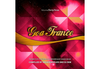 VARIOUS - Goa Trance Vol.33 - (CD)
