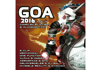 VARIOUS - Goa 2016 Vol.4 - (CD)