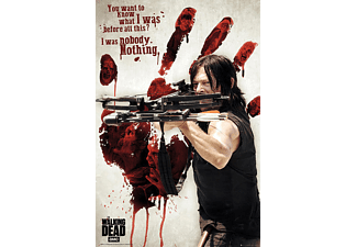 The Walking Dead Poster Bloody Hand Daryl Dixon