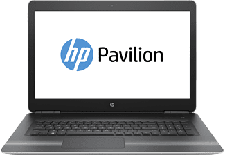 HP PAVILION 17-AB001NG, Notebook mit 17.3 Zoll Display, Core i7 Prozessor, 8 GB RAM, 1 TB HDD, GeForce GTX 960M, Silber