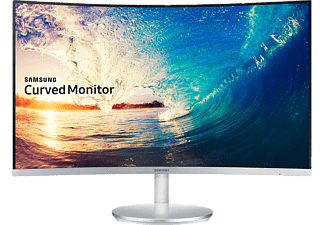 SAMSUNG LC27F591FDMXUF Curved 27 inç HDMI/DP Gümüş Full HD LED Monitör