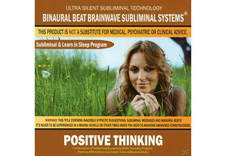 Binaural Beat Brainwave Subliminal Systems - Positive Thinking: Combination of Subliminal & - (CD)