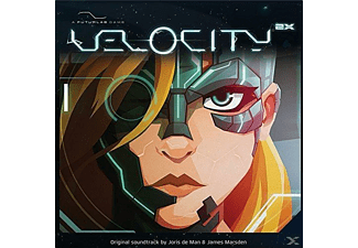 Joris De Man, James Marsden - Velocity 2x-Official Video Game S - (LP + Download)