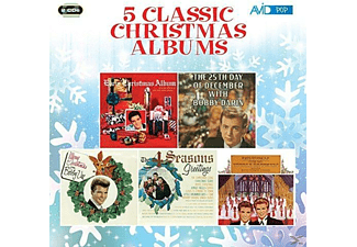 Elvis Presley, Bobby Darin, Bobby Vee, The Four Seasons, The Everly Brothers - Five Classic Christmas Albums - (CD)