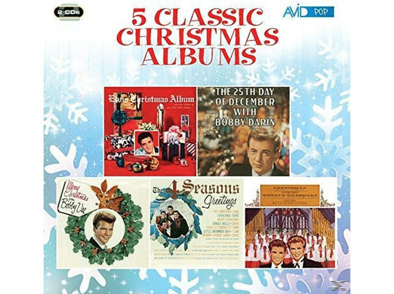 Elvis Presley, Bobby Darin, Bobby Vee, The Four Seasons, The Everly Brothers - Five Classic Christmas Albums [CD]